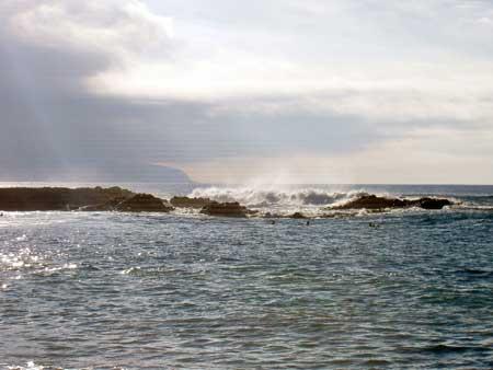 Surfing Castillo del Romeral