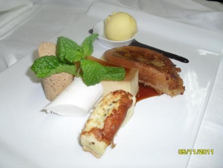exquisite meals at El Salsete